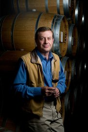Pierre Birebent, winemaker/vineyard manager