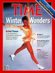 Debi Thomas Time cover