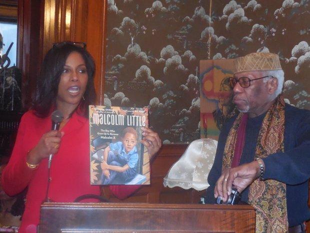 Ilyasah Shabazz with Herb Boyd