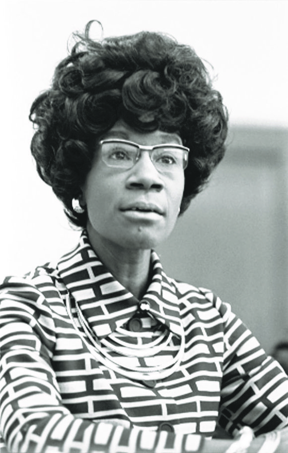 In honor of Women's History Month, the legacy of Congresswoman Shirley Chisholm will be honored with the introduction of the ...