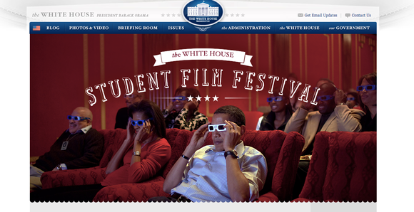 President Obama and the White House host the first-ever student film festival and promise millions of dollars in software for ...