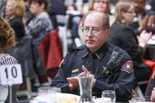 Romeoville Police Chief Mark Turvey