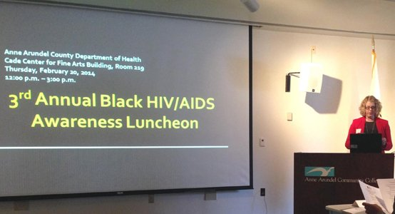 The Anne Arundel County Department of Health recently hosted the Third Annual Black HIV/AIDS Awareness Luncheon at the Anne Arundel ...