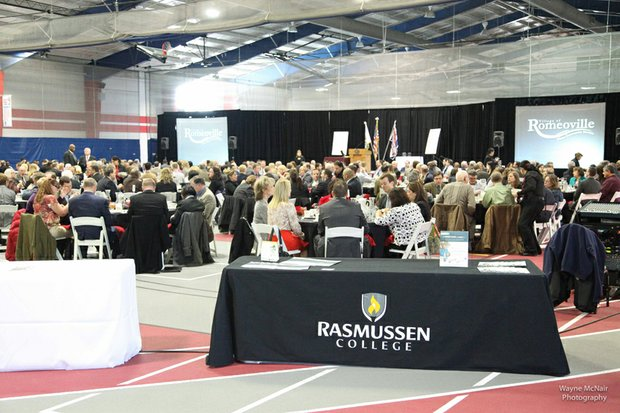 The 24th annual Romeoville State of the Village Addres was held March 6 at Lewis University.