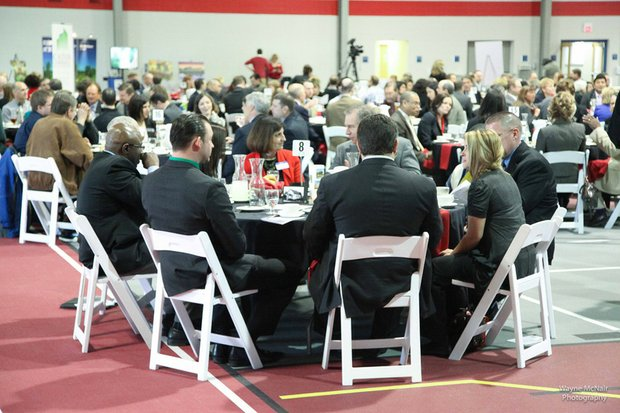 The auditorium at Lewis University was filled to capacity March 6 for Romeoville Mayor John Noak's annual State of the Village Address.