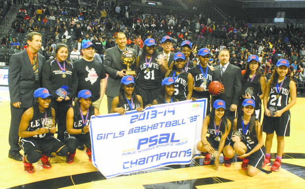Francis Lewis, the PSAL Girls champs