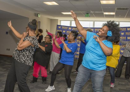 West Baltimore CARE held West Baltimore's Biggest Line Dancing Party as it commemorated the first anniversary of the launch of ...