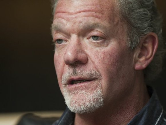 Colts' owner Jim Irsay suspended six games, fined $500,000 by NFL after DUI plea.