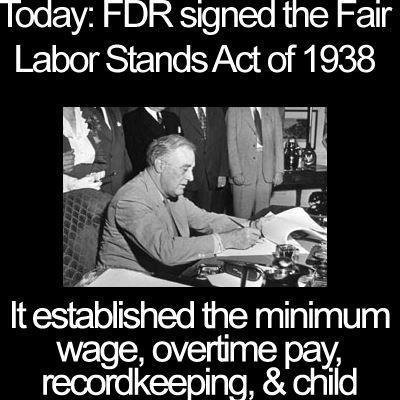 In the years before the passage of the Fair Labor Standards Act in 1938, in a time fondly remembered by ...