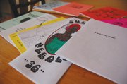 Varied examples of self-made zines created by Portland's Women of Color Zines group,  touch on topics including but not limited to gentrification, art, beauty, minority womanhood, and housing. Tonya L. Jones, the founder of the organization, says she's seen a birth of pride among various women authors who are participating in the group as well as herself.