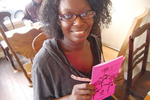 Tonya L. Jones is encouraging diversity of thought in Portland's literary scene with Women of Color Zines, a group she formed to encourage the creation of self-made publications by local minority women. Jones says she was compelled to create the organization after attending the world's biggest zine symposium in Portland some years back and noticing a lack of diversity.
