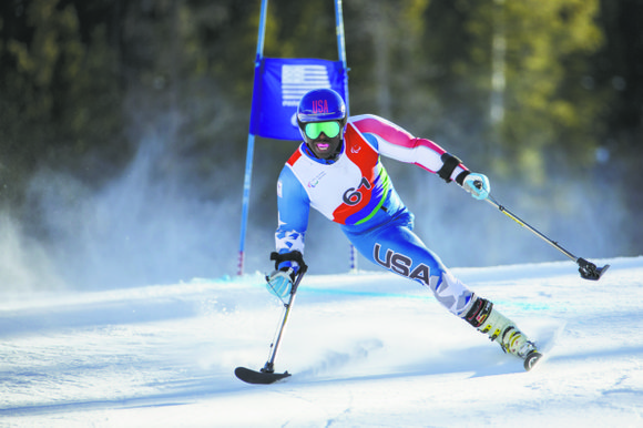 """""""I consider myself to be an ambassador of this sport,"""" said Ralph Green, 36, who competed in alpine skiing at ..."""