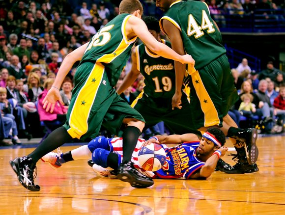 The Harlem Globetrotters' fate is in the public's hands. They're letting their fans nationwide vote on a new rule in ...
