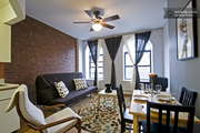 Visitors can rent out this apartment in Harlem. Photo from Airbnb website.