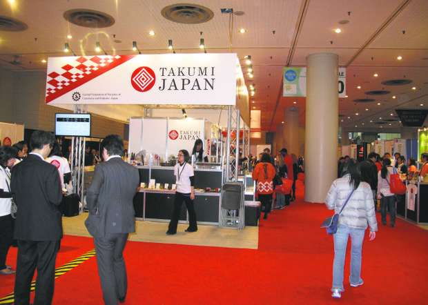 NY Restaurant Show-the Japan Pavilion.