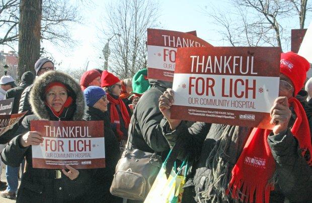 Protestors support LICH