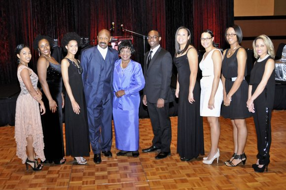 A celebratory evening that attracted 350 University of Houston alumni, community leaders, students and university officials culminated in the presentation ...
