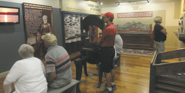 Visitors come from all around the world to visit the Mark Twain Boyhood Home and Museum.