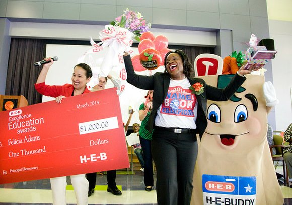 Eight Houston-area educators have been named finalists for a 2014 H-E-B Excellence in Education Award, spotlighting them as some of ...