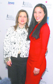 Sharon Cohen and Olympic champion Michelle Kwan