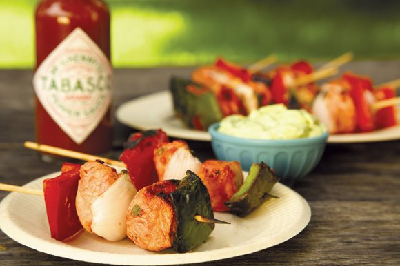 Family Features Dust off your grill and light up the coals—it's time to move the party back to the warm ...