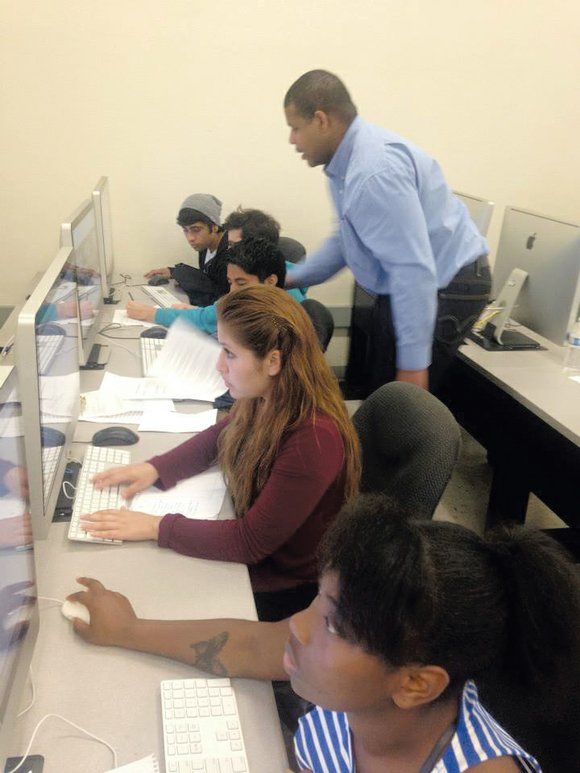 After a week of intensive classes in HTML and CSS coding, 20 YouthBuild Charter School of California (YCSC) students spent ...