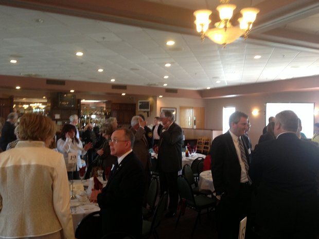 About 200 attended Lockport Mayor Steve Streit's first State of the City Address.