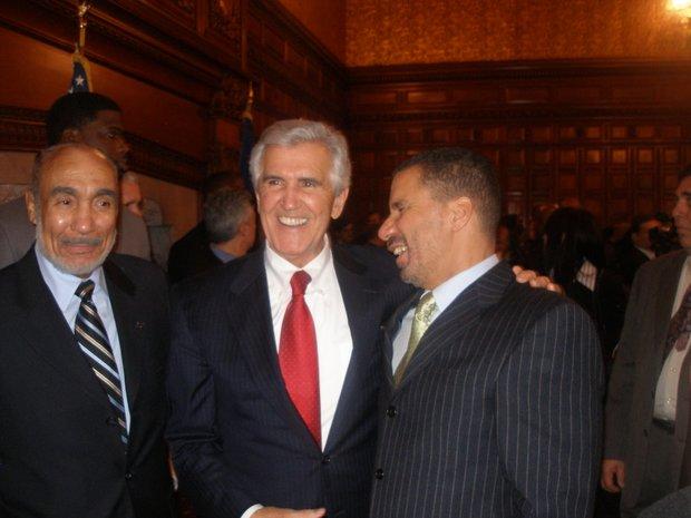 Basil Paterson, Joe Bruno and David Patterson