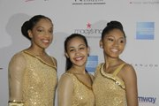 Skaters at Figure Skating in Harlem gala