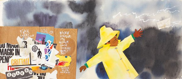 The Los Angeles Skirball Cultural Center is showcasing the Ezra Jack Keats exhibit dubbed The Snowy Day now through September ...