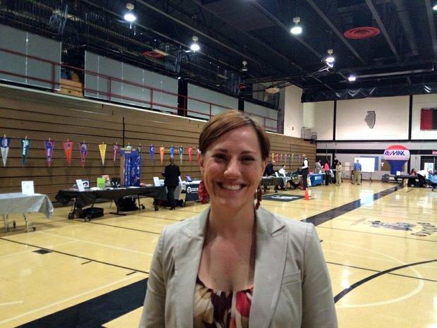 Danielle McDermott, eighth grade counselor at Brooks Middle School