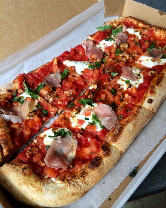 """In 2008, I put Pizzeria 123 on my """"Best of Harlem"""" list for their medium plain pizza—well done, of course. ..."""