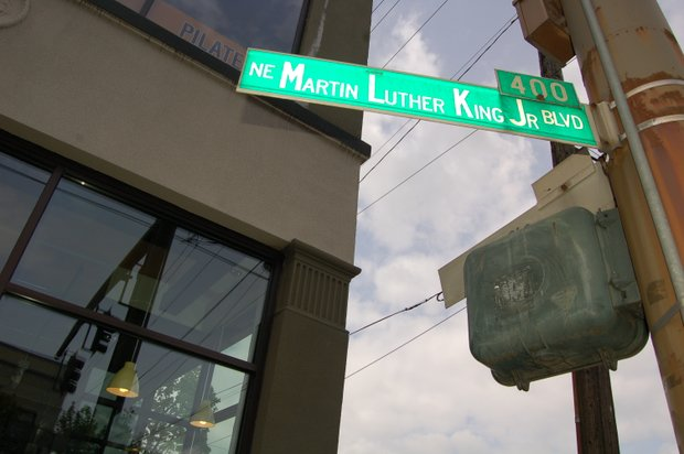 The community is invited to celebrate the 25th anniversary of the naming of Northeast Martin Luther King Jr. Boulevard during a special ceremony on Saturday, April 26, from 3 p.m. to 4:30 p.m. at the Blazers Boys and Girls Club.