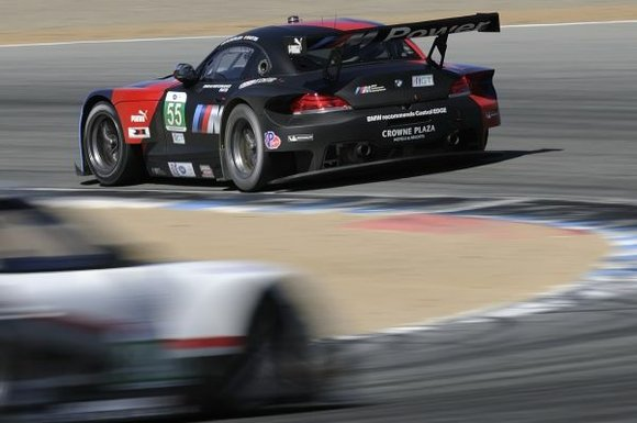 BMW Team RLL brings its two BMW Z4 GTLM racing cars and the lead in the class Team and Driver ...