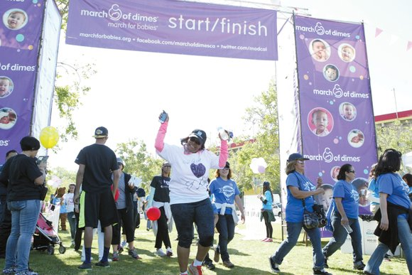 It was bright and sunny this past Saturday morning, and the weather made it perfect for the March of Dimes ...
