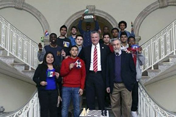 300 of New York City's top-rated scholastic chess players will compete in the 12th annual New York City Mayor's Cup ...