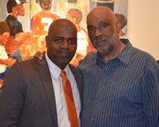 Ras Baraka with Danny Simmons