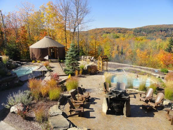 Our next spa stop was Spa Natur'Eau, an oasis that far exceeds your wildest expectations.