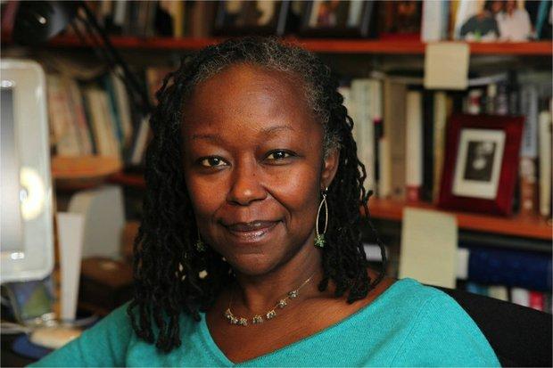 Columbia University professor Farah Jasmine Griffin