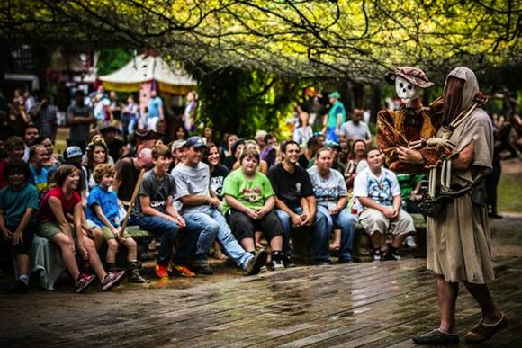 The Texas Renaissance Festival is in a celebratory mood over winning the number one spot in USA Today's list of ...