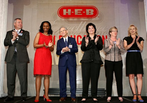 On Saturday, May 3, H-E-B announced statewide winners of the 13th annual H-E-B Excellence in Education Awards during a banquet ...