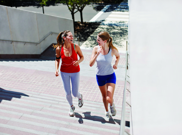 It is common to pair an exercise routine with a plan to cut calories and improve eating habits. While this ...