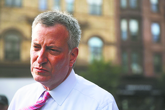 Mayor de Blasio has had a tough year with an ongoing federal probe into his administration, resignation of his press ...