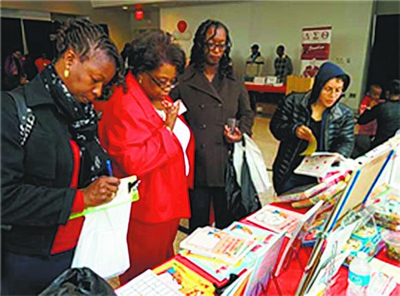 The Delta Sigma Theta Sorority's Brooklyn Alumnae chapter's annual Black Book Fair took place last Sunday