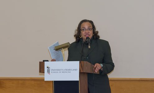 Dr. Claudia Baquet, associate dean for policy and planning and director of bioethics and health disparities at the University of Maryland School of Medicine in Baltimore.