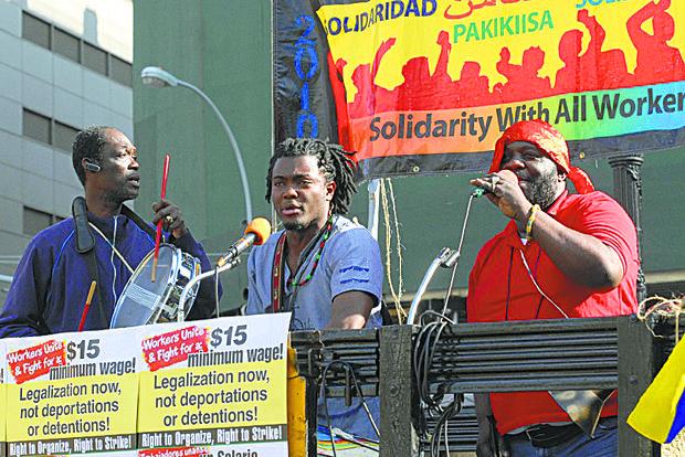 2014 May Day rally
