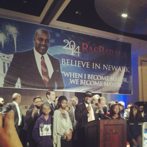 Ras Baraka is now mayor-elect of Newark, N.J.