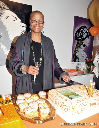 Terrie Williams' unprintable response was hilarious when she walked in on her surprise 60th birthday celebration on Friday, May 9. ...