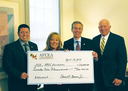 The Armed Forces Communications and Electronics Association (AFCEA), Central Maryland Chapter (www.afceacmd.org), recently donated $25,000 in scholarship aid to the ...