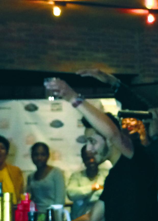 Jonathan Franco victory toast